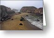 San Simeon Greeting Cards - Otherworldly Greeting Card by Lynn Andrews