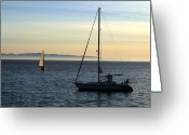 Clayton Photo Greeting Cards - Peaceful Day In Santa Barbara Greeting Card by Clayton Bruster