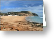 Luz Greeting Cards - Praia da Luz Greeting Card by Carl Whitfield