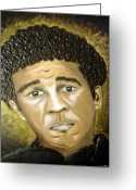 Keenya Woods Greeting Cards - Richard Pryor  Greeting Card by Keenya  Woods