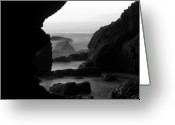 Cave Greeting Cards - Rocky Dream Greeting Card by Brad Scott