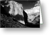 Tunnel View Greeting Cards - Salute to Ansel Adams II Greeting Card by Amanda Kiplinger