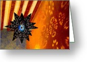 Darian Day Greeting Cards - Starlight 2 by Darian Day Greeting Card by Olden Mexico