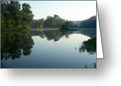 Starrs Greeting Cards - Starrs Mill GA Summer Morn Greeting Card by Jake Hartz