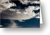 Clayton Greeting Cards - Streakin Cloud Greeting Card by Clayton Bruster