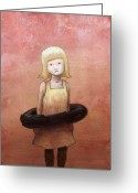 Little Girl Greeting Cards - Summertime Rulz Greeting Card by Ethan Harris