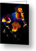 Bruster Greeting Cards - The Glow Greeting Card by Clayton Bruster