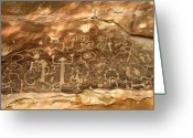 Mesa Verde Greeting Cards - The Great Panel Greeting Card by David Lee Thompson