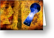 Day Photo Greeting Cards - The Key Hole Greeting Card by Andre Giovina