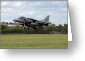 Afterburner Greeting Cards - The Vertical Take-off Greeting Card by Angel  Tarantella