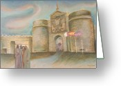 Barbara Nesin Greeting Cards - Toledo Homecoming Greeting Card by Barbara Nesin