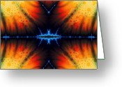 Clayton Greeting Cards - Transient Propagation Greeting Card by Clayton Bruster