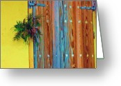 Door Hinges Greeting Cards - Twisted Root Greeting Card by Debbi Granruth