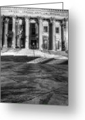 Historic Lighthouse Greeting Cards - Us Custom House Charleston SC Greeting Card by Dustin K Ryan