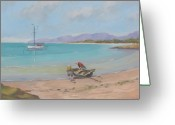 Murray Mcleod Greeting Cards - Whitsunday sailors Greeting Card by Murray McLeod