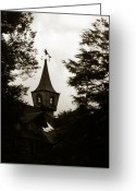 Mistic Greeting Cards - Witch House Greeting Card by Amarildo Correa