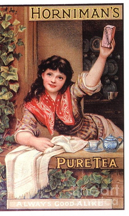 1890s Uk Tea Horniman�s Print by The Advertising Archives