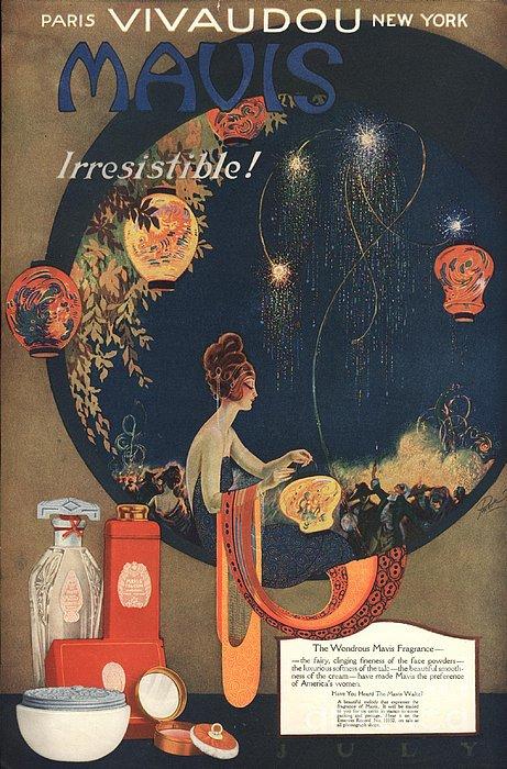 1910s Uk Mavis Talcum Powder Print by The Advertising Archives