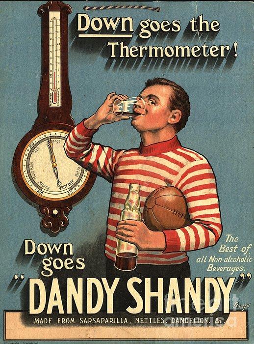 1920s Uk Dandy Shandy Sarsaparilla Print by The Advertising Archives