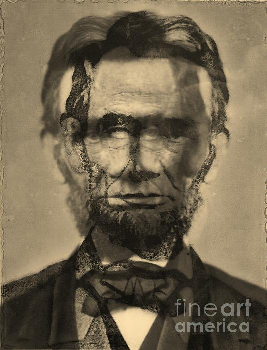 Abraham Lincoln Print by Michael Kulick