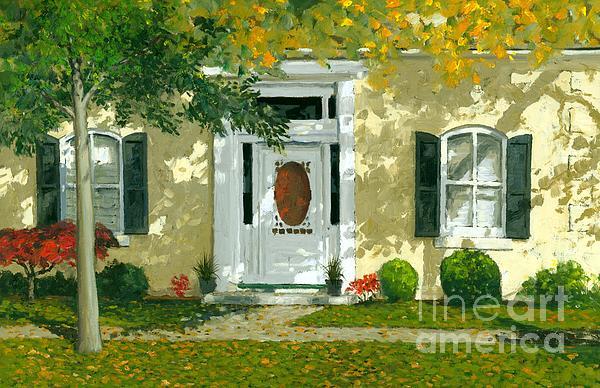 Autumn Sunlight Print by Michael Swanson