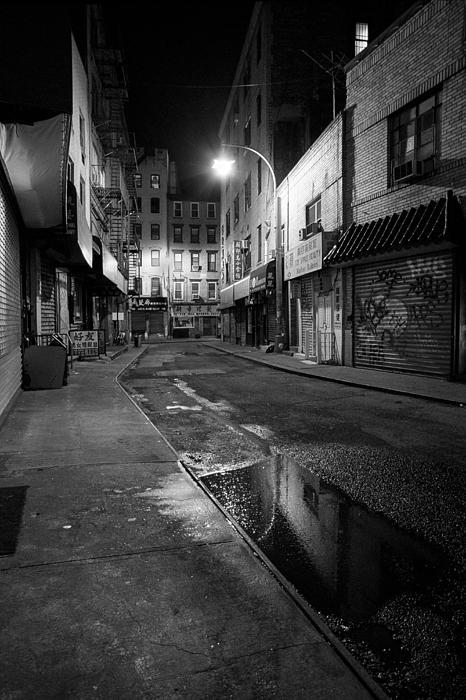 Chinatown New York City - Doyers Street Print by Gary Heller