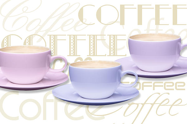 Coffee Time 2 Print by Natalie Kinnear