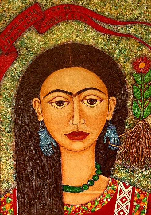 Madalena Lobao-Tello -  Homage to Frida