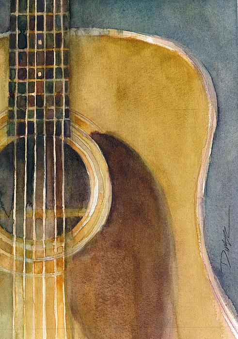 Dorrie Rifkin -  Martin Guitar D-28 8.5 x 11