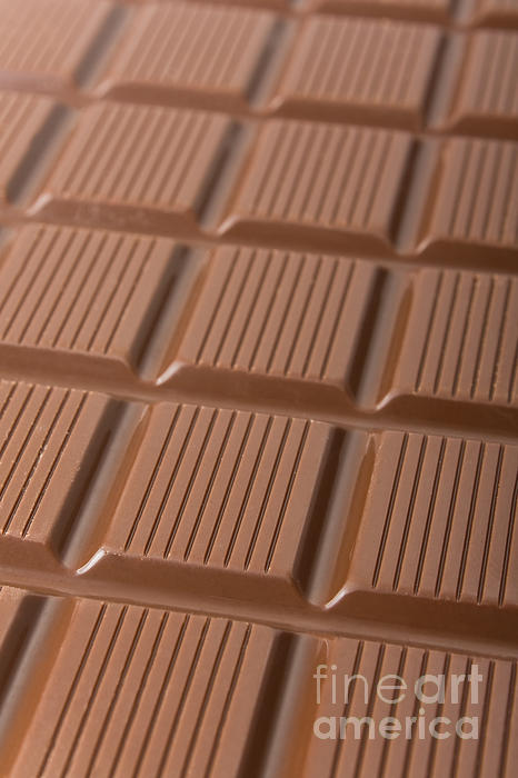 Milk Chocolate Bar Print by Jose Elias - Sofia Pereira