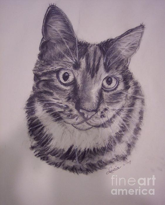 Pet Portraits  Print by Lucia Grilletto