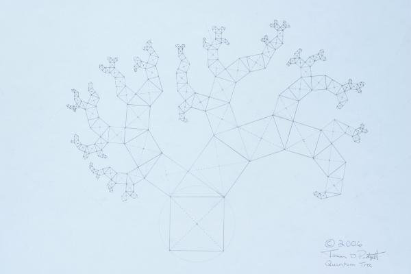 Quantum Tree Print by Jason Padgett