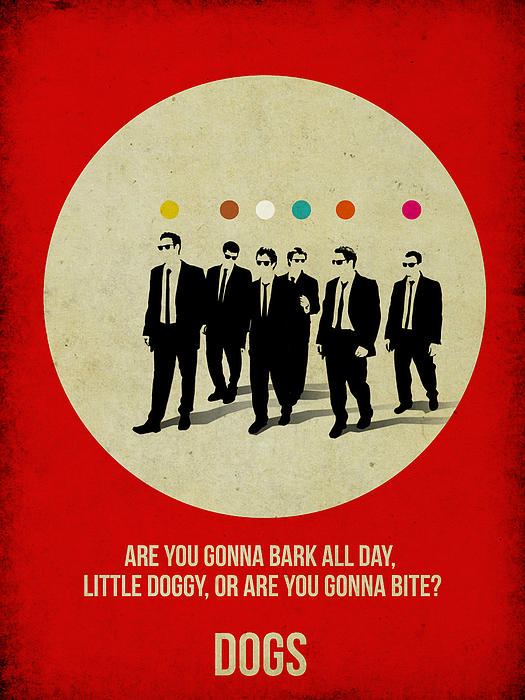 Reservoir Dogs Poster Print by Naxart Studio