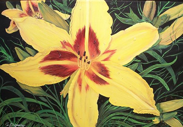Sharon Duguay -  Yellow Lily