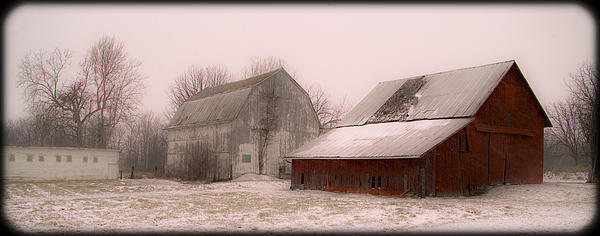 020213-112   Prairie Winter Fantasy II Print by Mike Davis - Micks Pix Photos