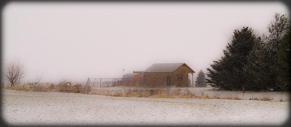 020213-42   Prairie Winter Fantasy Print by Mike Davis - Micks Pix Photos