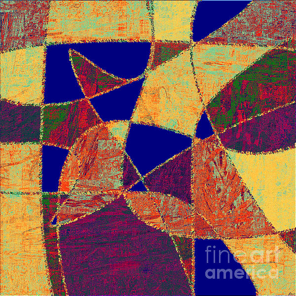 0268 Abstract Thought Print by Chowdary V Arikatla
