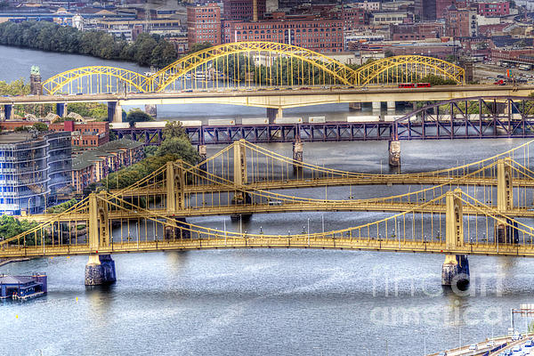 0307 Pittsburgh 8 Print by Steve Sturgill