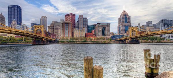 0311 Pittsburgh 1 Print by Steve Sturgill