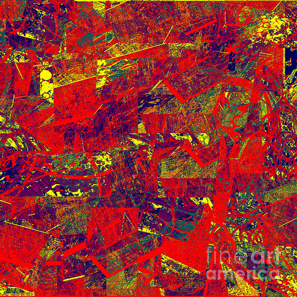 0384 Abstract Thought Print by Chowdary V Arikatla