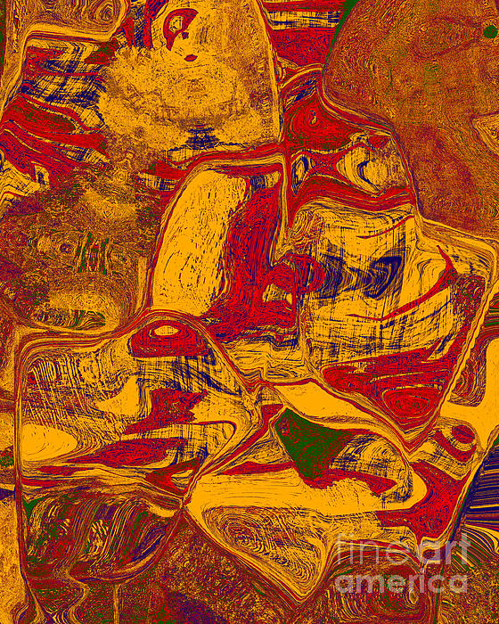 0518 Abstract Thought Print by Chowdary V Arikatla