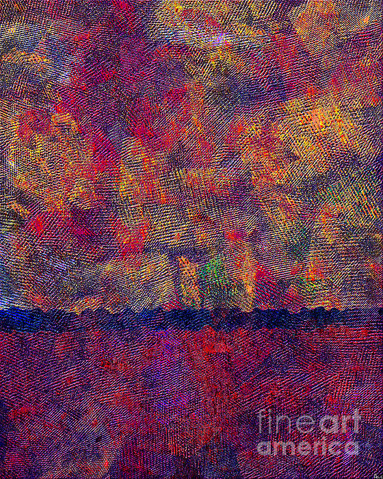 0799 Abstract Thought Print by Chowdary V Arikatla