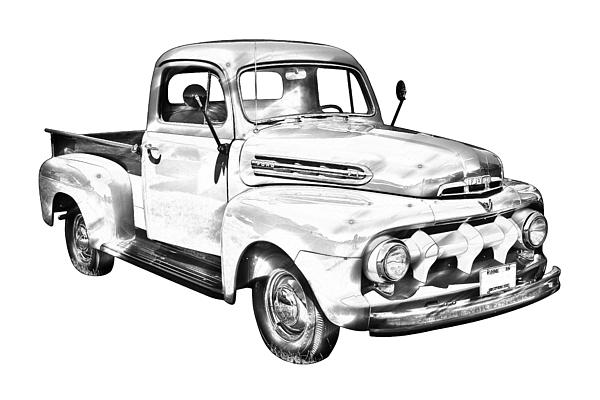 1951 ford f