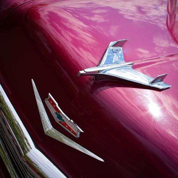 1956 Chevy Bel Air Print by David Patterson