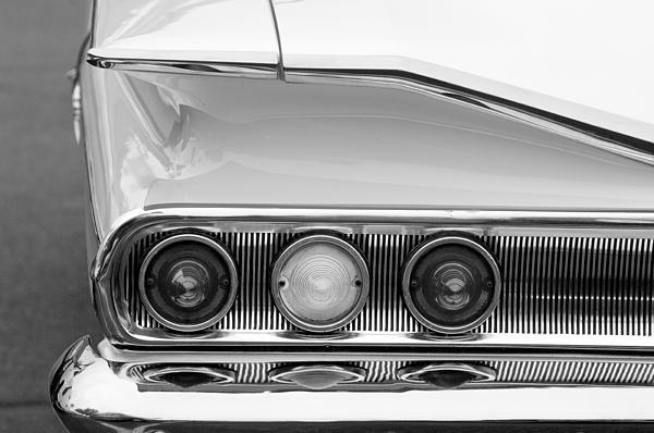 1960 Chevrolet Impala Tail Lights Print by Jill Reger