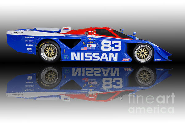 1988 Nissan Zx Gtp Can Am Race Car By Tad Gage
