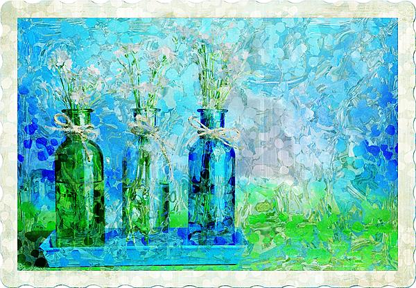 1-2-3 Bottles - S13ast Print by Variance Collections