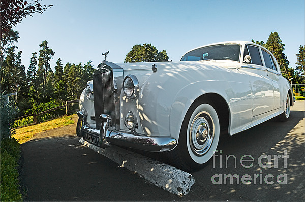 A Classic Rolls Royce Print by Ron Sanford
