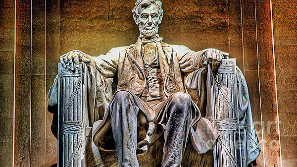 Abraham Lincoln Print by Marvin Blaine