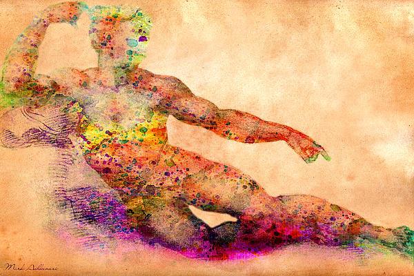 Adam Print by Mark Ashkenazi